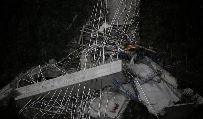Demolición puente Chirajara: No habría cierre de vía por implosión de puente de Chirajara: Mintransporte
