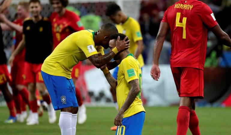En vivo Brasil Bélgica cuartos de final: Brasil se despide del Mundial tras perder ante Bélgica