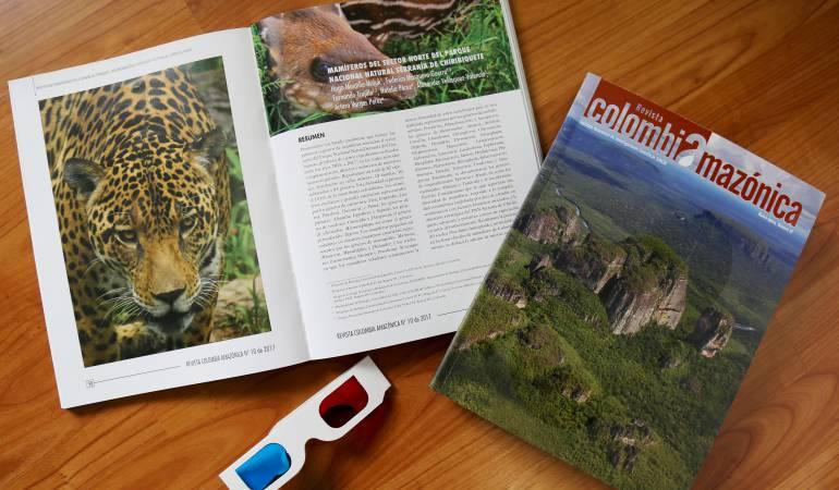 Chiribiquete: El Sinchi presentó su revista que recopila investigación sobre Chiribiquete
