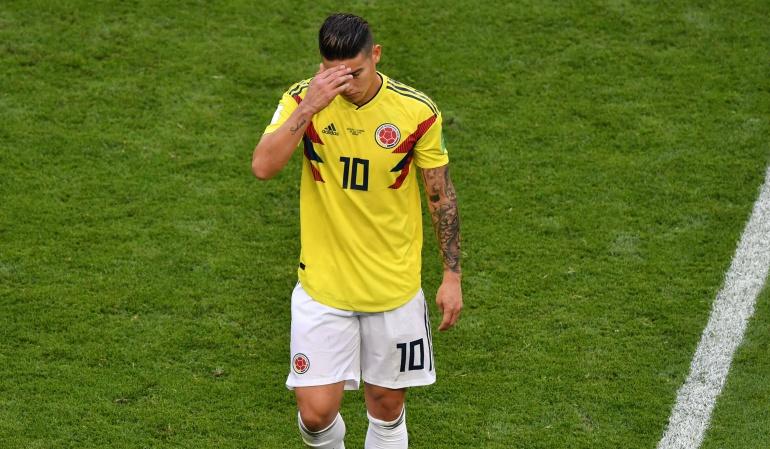 James Rodríguez lesión Selección Colombia: James inició tratamiento y en unos días se definirá si debe operarse
