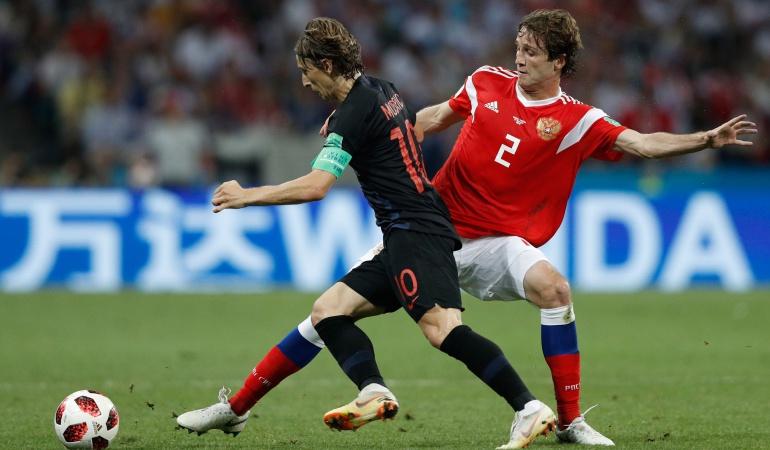 En vivo Rusia Croacia Online: Croacia vence a Rusia en penales y clasifica a semifinales por segunda vez