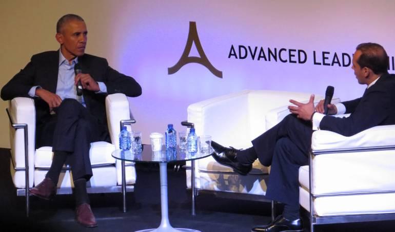 Economía sostenible: Obama y Duque defienden la oportunidad para el desarrollo sostenible