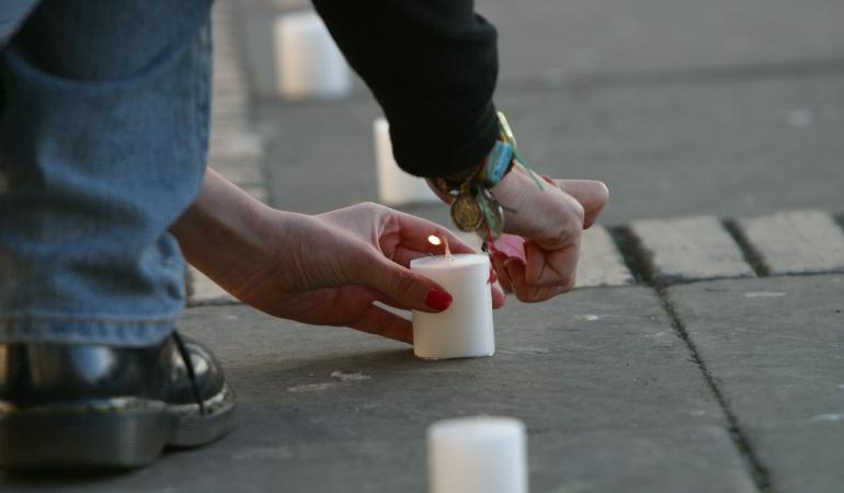 Velatón Nacional muerte de líderes sociales: Velatón para rechazar los asesinatos de líderes del país