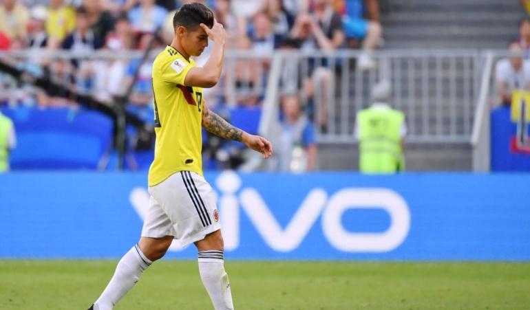 James ruptura fibrilar Medellín: James llegó a Medellín tras confirmarse la lesión en su pierna derecha
