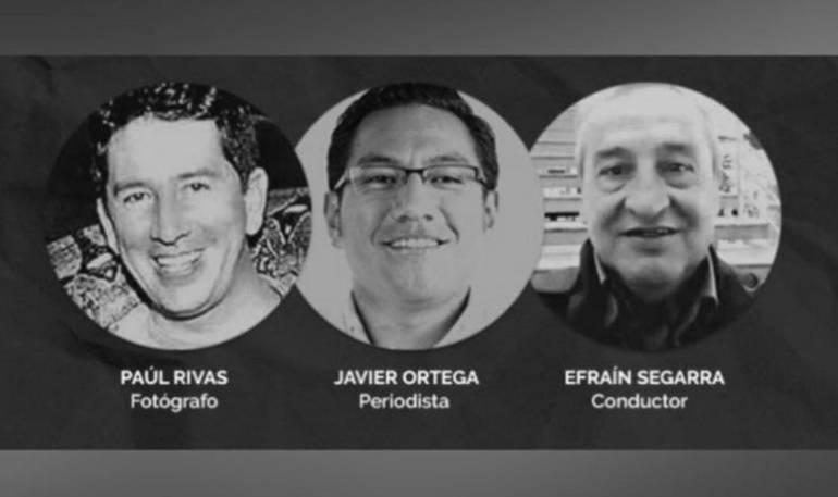 Alias Guacho: Capturan al presunto responsable del crimen de periodistas ecuatorianos