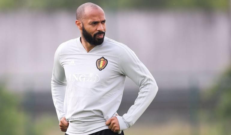 Thierry Henry Francia Bélgica: Thierry Henry, el único francés que no quiere a Francia en la final