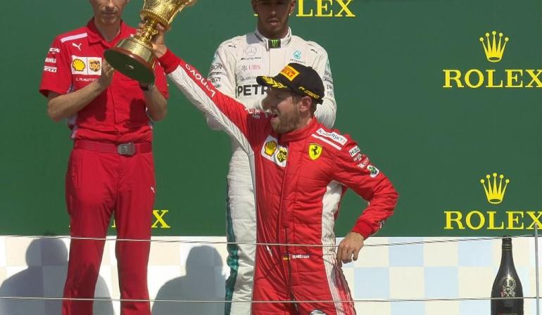 Sebastian Vettel GP Gran Bretaña Fórmula 1: Vettel gana el GP de Gran Bretaña y se mantiene como líder de la Fórmula 1