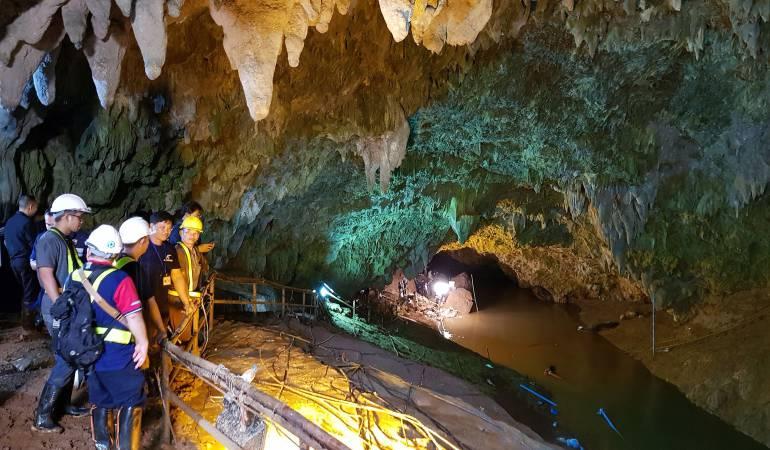 Rescate a niños en Cueva: Ya son 8 los niños rescatados en cueva de Tailandia