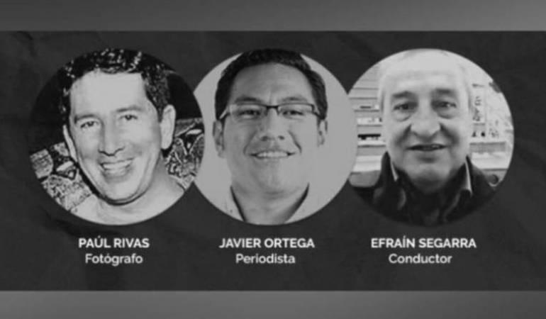 Alias Guacho: A la cárcel 'Reinel', responsable de secuestro de periodistas ecuatorianos