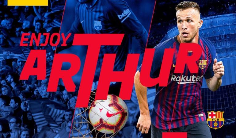 Athur nuevo jugador del Barcelona: Arthur será presentado este jueves como nuevo jugador del Barcelona