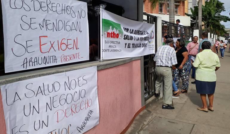 Sindicato de la Salud: Sector social y sindicatos de la salud se toman la Gobernación de Arauca