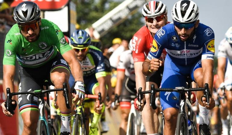 """Peter Sagan Fernando Gaviria Tour de Francia: Sagan: """"Para ganar a Gaviria hay que esperar un error"""""""