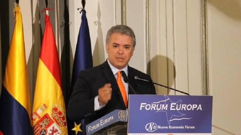 Gobierno Colombia: Duque anunciará su gabinete en una semana