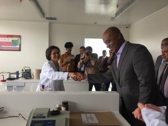 Cambio climático: El IDEAM inauguró la nueva sede del Laboratorio de Calidad Ambiental