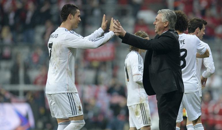 """Cristiano Ronaldo fichaje Ancelotti: Ancelotti: """"El fútbol italiano se beneficiará por el fichaje de Ronaldo"""""""