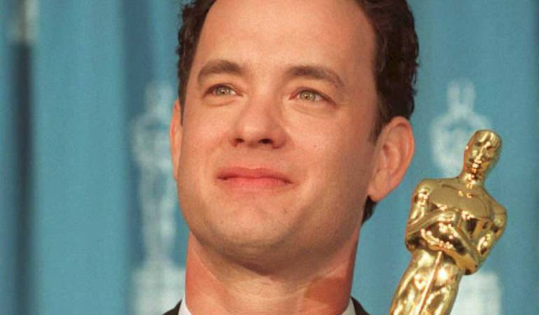 Tom Hanks quien interpretó a Forrest Gump