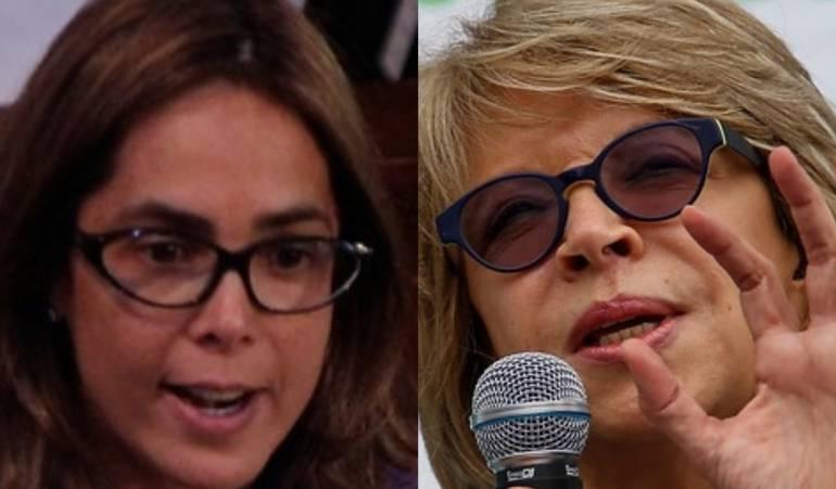 Gina Parody, Cecilia Álvarez