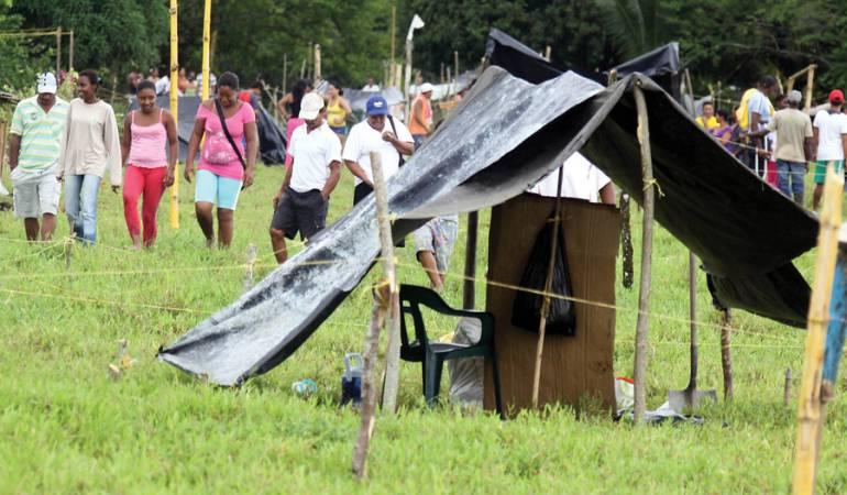Desalojos en Guaviare: Tutela ordena desalojar predio ocupado por grupo de familias en Calamar