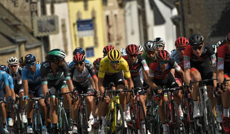 sexta etapa tour francia: El irlandés Daniel Martin ganó la sexta etapa del Tour de Francia