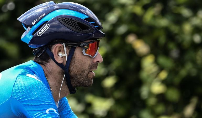 """Alejandro Valverde Tour de Francia: Valverde: """"Ganar en el Tour es difícil, espero ganar una etapa pronto"""""""