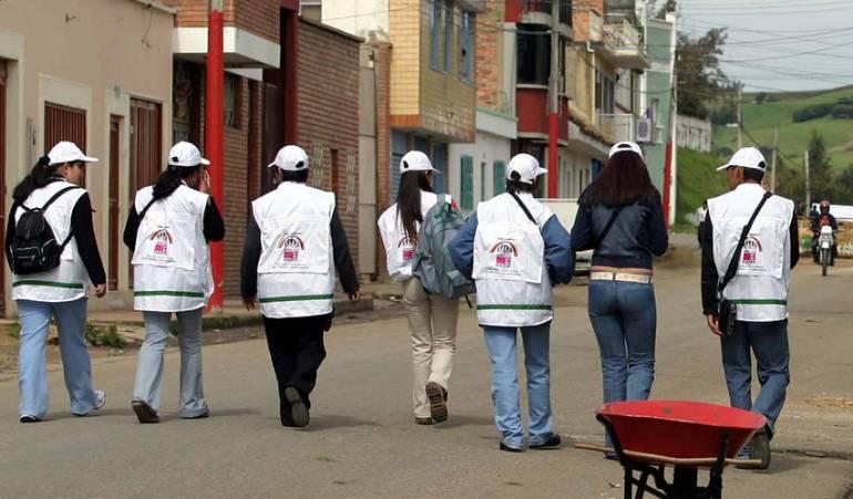 Amenazas trabajadores censo: Trabajadores del censo del Dane denuncian amenazas