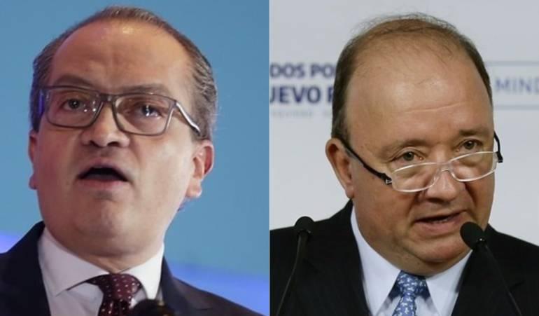 Fernando Carrillo, Luis Carlos Villegas