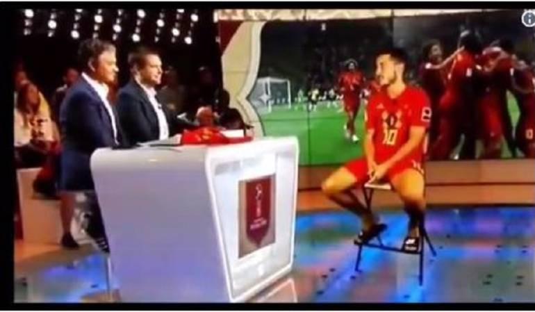 Holograma Eden Hazard Bélgica: ¡El futuro es ahora! Impresione entrevista en holograma a Eden Hazard