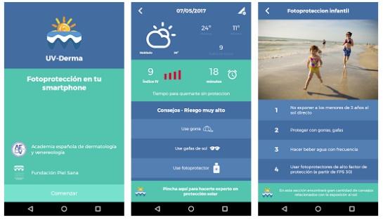 Aplicaciones para broncearse: ¡La tecnología también lo cuida! Apps que controlan la exposición al sol