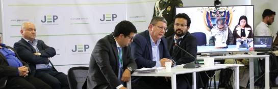 Farc acude a la JEP: FARC rindieron cuentas sobre secuestro y desapariciones ante la JEP