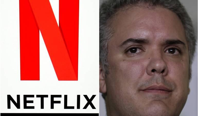 Netflix e Iván Duque