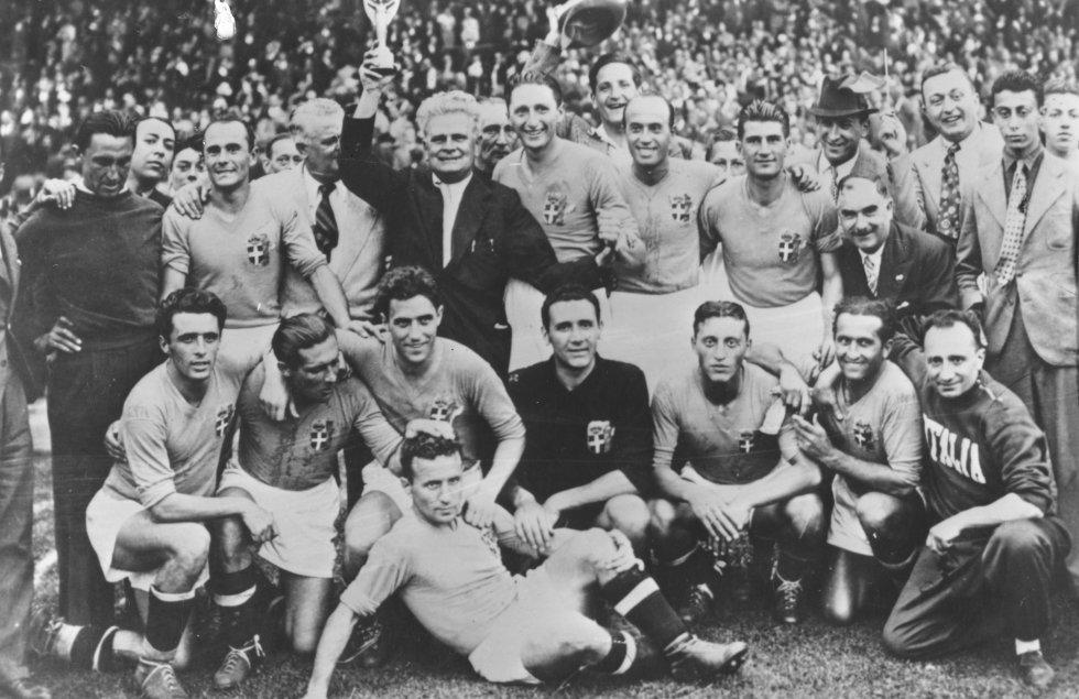 Sede: Francia 1938 / Campeón: Italia