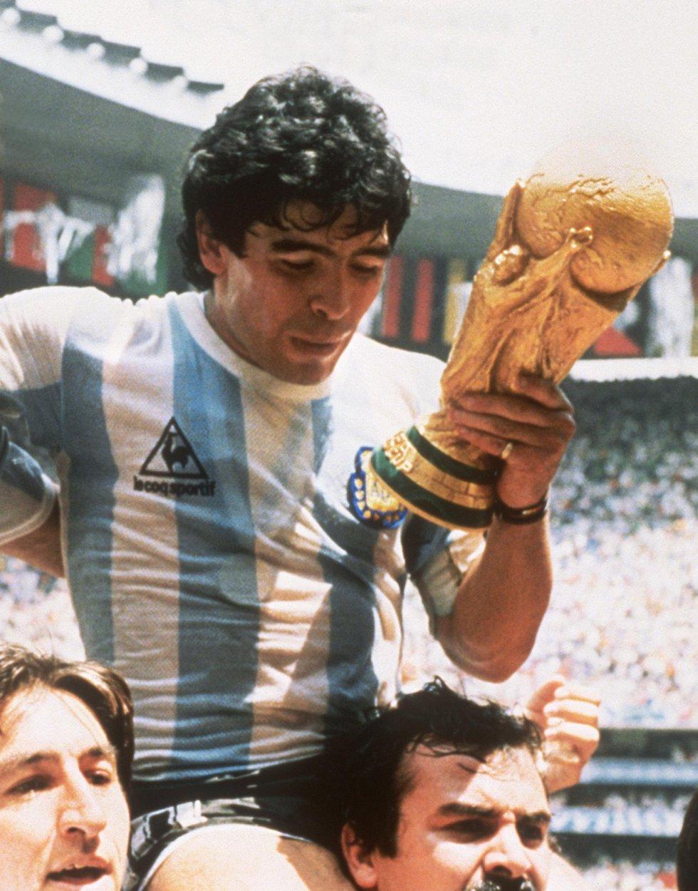 Sede: México 1986 / Campeón: Argentina