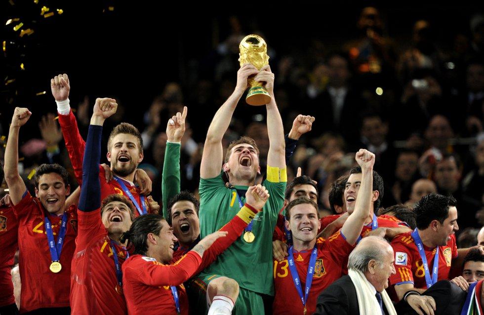 Sede: Sudáfrica 2010 / Campeón: España