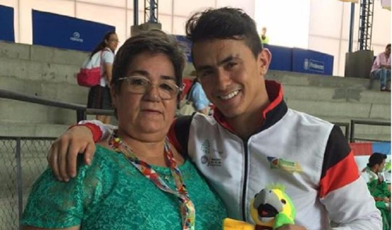 Mamá Jossimar Calvo: Falleció la madre del gimnasta Jossimar Calvo