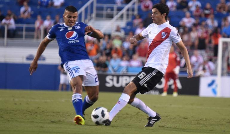 Millonarios Vs River Plate: Millonarios cayó goleado en amistoso de pretemporada ante River
