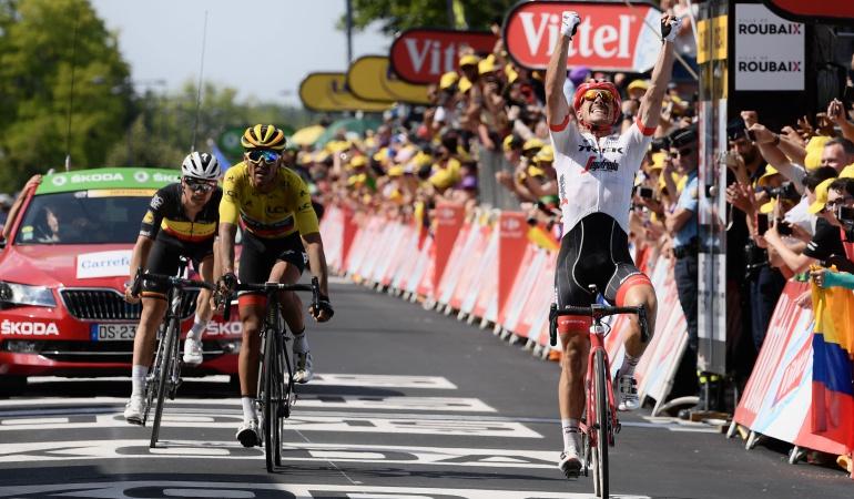 Tour de Francia etapa 9 Pavé: John Degenkolb gana la novena etapa del Tour de Francia