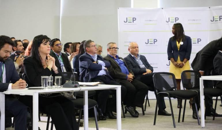 JEP - FARC: La JEP explicó por qué la diligencia de las FARC fue transmitida