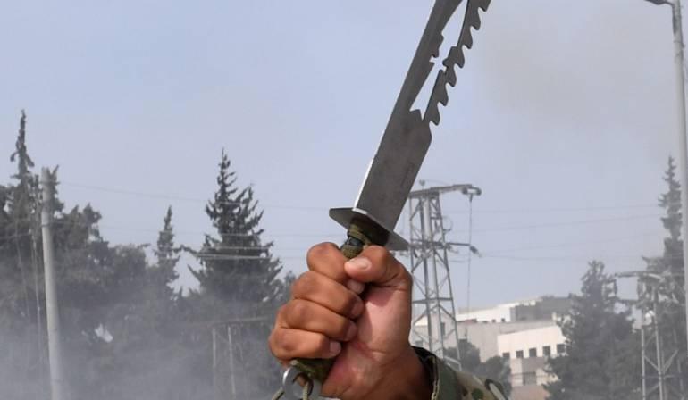 Ataques con Arma Blanca: El curioso video que enseña cómo defenderse de un ataque con cuchillo