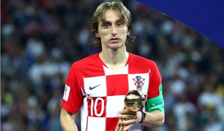 Luka Modrid balón de oro: Luka Modric se quedó con el balón de oro del Mundial