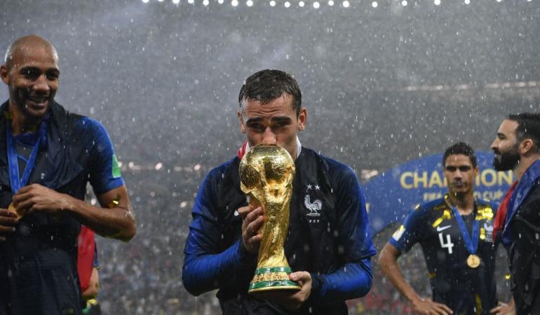 """Griezmann Francia campeón del Mundo: Griezmann: """"Somos un grupo unido. Hoy hicimos historia"""""""