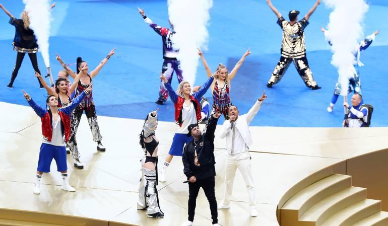 Clausura Mundial 2018: ¡Majestuosa! Así fue la clausura del Mundial Rusia 2018
