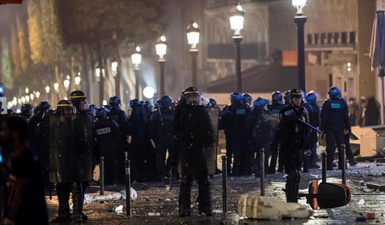 Disturbios Francia título Mundial: Disturbios en Francia tras la celebración del título Mundial