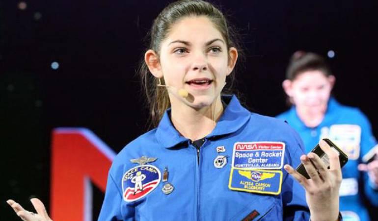 Viaje a marte: Alissa Carson, podría ser una de las primeras personas en Marte