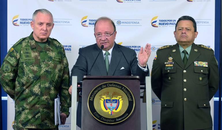 Grupos militares ilegales: Disidencias de las Farc son narcotraficantes: MinDefensa