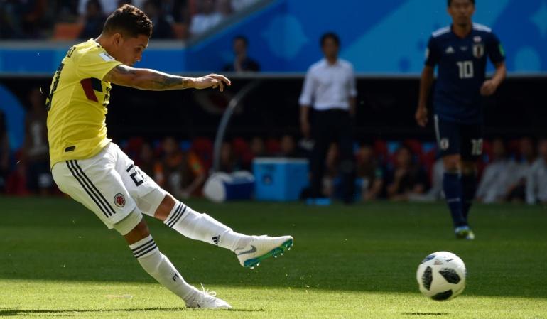 El gol de Quintero en Rusia es nominado al mejor del Mundial