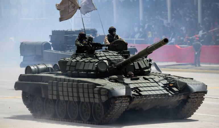 Crisis social Venezuela: Preocupación por despliegue militar de Venezuela en frontera con Colombia