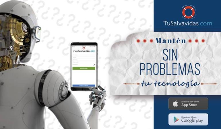Aplicaciones para soporte sistemas: Tusalvavidas.com revoluciona los soportes técnicos