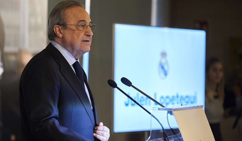 """Florentino Pérez: Florentino:""""Esta es una gran plantilla, se reforzará con grandes jugadores"""""""