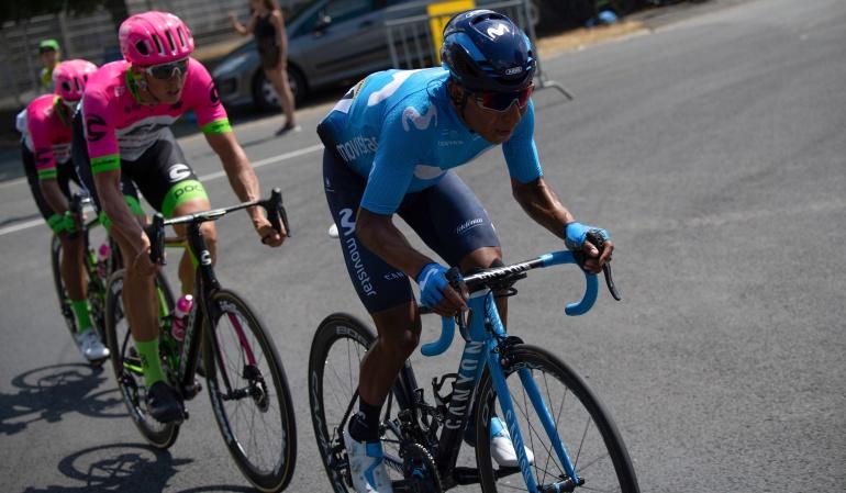 """Nairo Quintana Tour de Francia: Nairo: """"No nos hemos encontrado como queríamos"""""""