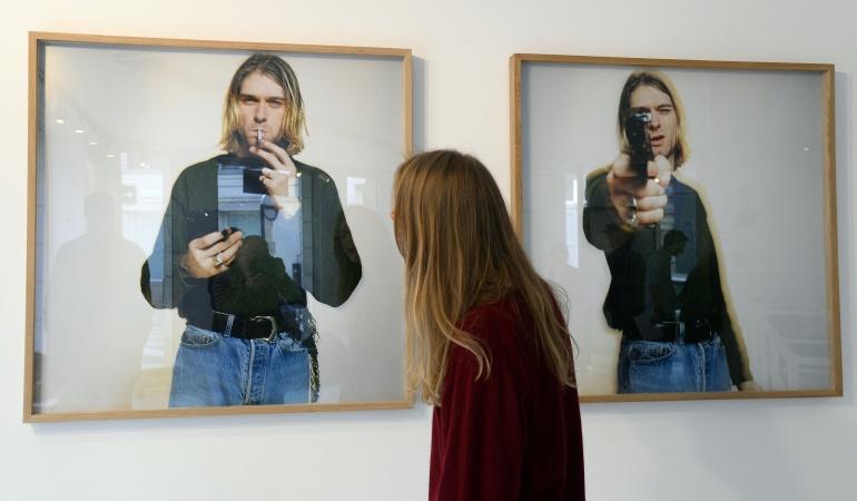 exposición cosas Kurt Cobain: En un plano más íntimo Kurt Cobain sigue presente